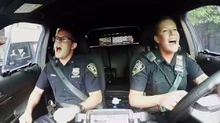 NYPD respond to Boston 'cop pool karaoke,' sings  Katy Perry's 'Firework'