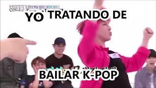 YO TRATANDO DE BAILAR K-POP