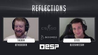 Reflections with steel CS GO