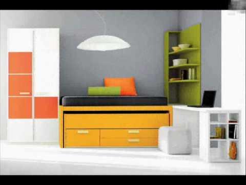 Dormitorios juveniles muebles garc a intermobil youtube for Muebles juveniles asturias
