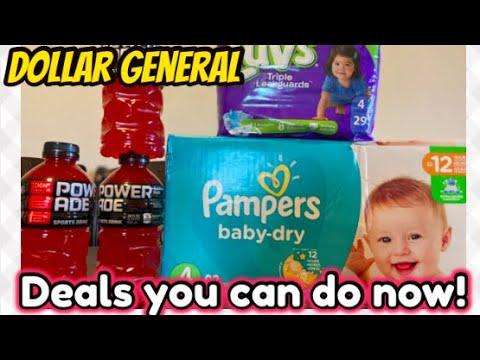 DOLLAR GENERAL DEALS YOU CAN DO NOW!! ALL DIGITAL COUPONS!