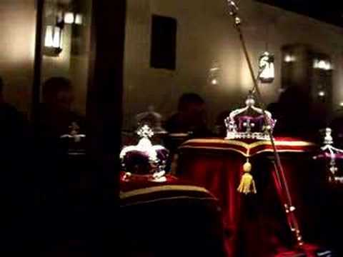 British Crown Jewels at the Tower of London - YouTube
