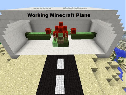 Working Minecraft Plane