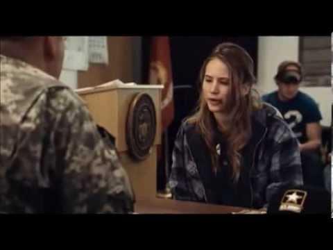 Military recruitment scene from Winter's Bone 2010