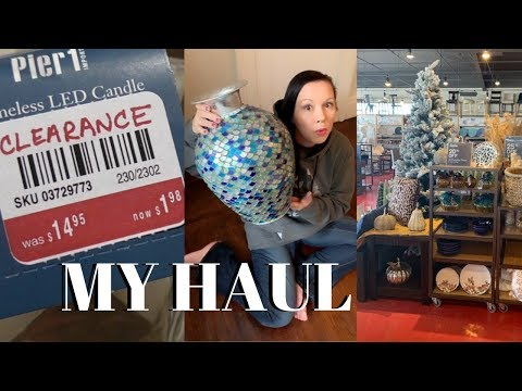 Clearance Shopping Pier One | My Haul