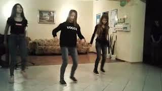 Лёгкий танец под песню папито