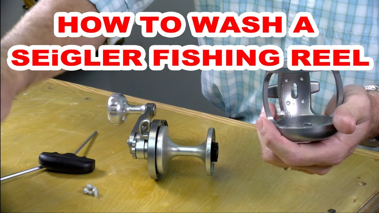 How to clean a seigler fishing reel youtube for Seigler fishing reels