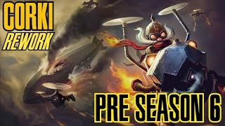 League of Legends - CORKI ADC REWORK PRE SEASON 6 - WHEPA RANGE [PT-BR]