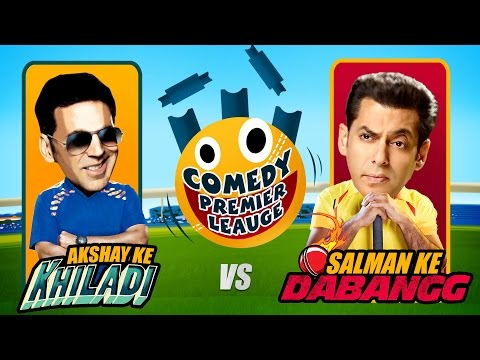 Comedy Premier League | Akshay Ke Khiladi VS Salman Ke Dabangg | Promo | Indian Comedy