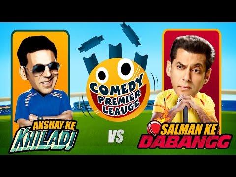 Comedy Premier League | Akshay Ke Khiladi VS Salman Ke Dabangg | Promo | Indian Comedy