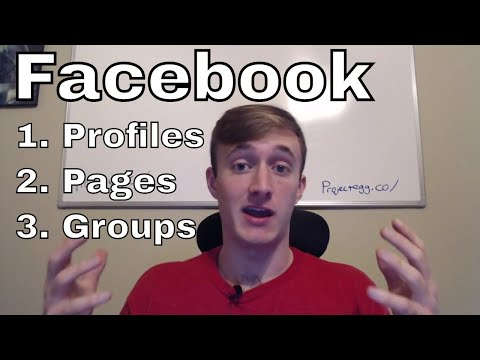 Facebook Profiles, Pages, Groups 👍 Pros & Cons For Business