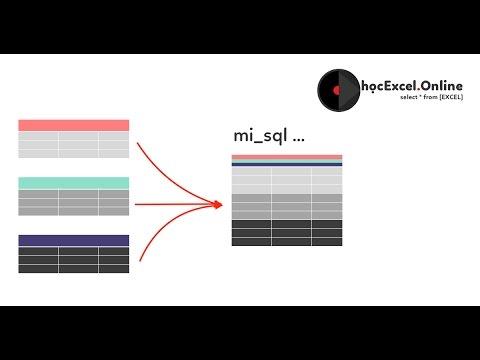 Hướng dẫn gộp dữ liệu từ nhiều sheet trong Excel có cấu trúc giống nhau