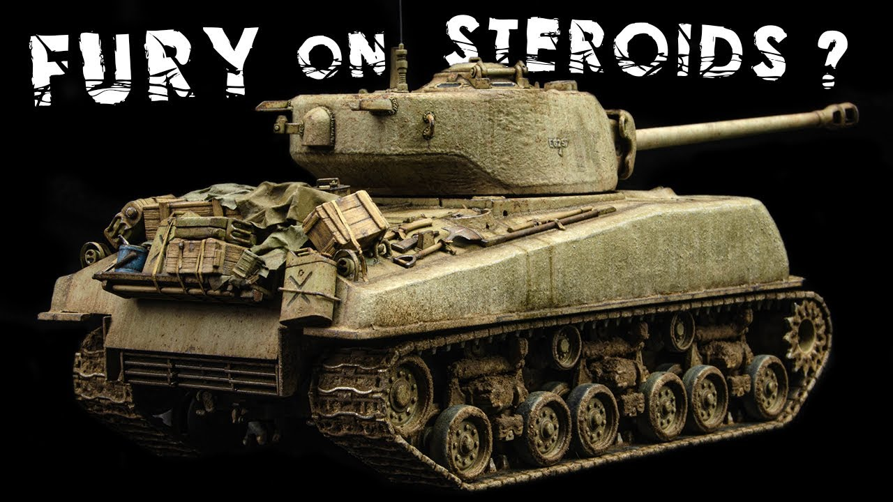 Let's Finish The Concrete Sherman Easy 8 | M4A3E8 | Tamiya 1/48