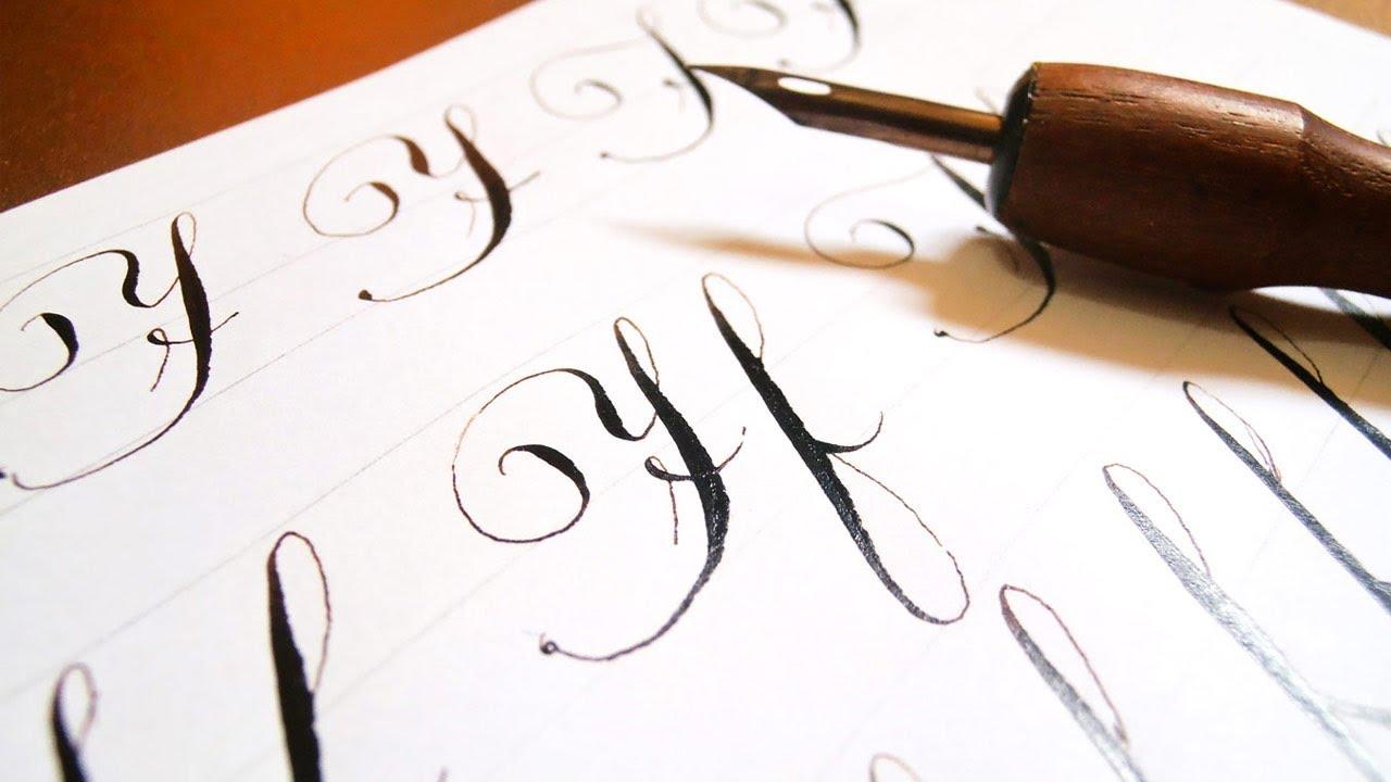 Letra f en cursiva mayuscula