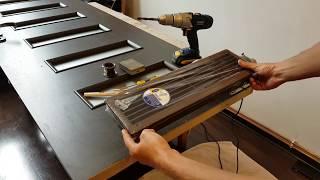 Jak zamontować kratke wentylacyjną do drzwi?
