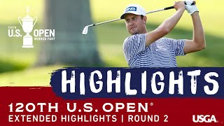 2020 U.S. Open, Round 2: Extended Highlights