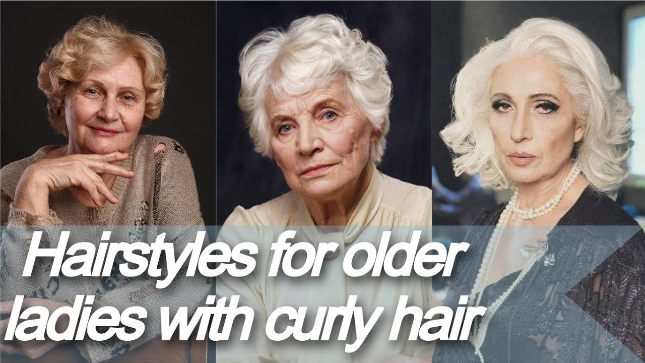 Best Hairstyles For Older Ladies With Curly Hair Youtube