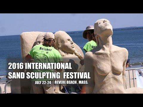 2016 International Sand Sculpting Festival Revere Beach Ma. preview
