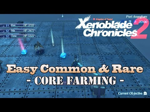 Xenoblade Chronicles 2 - Easy Common & Rare Core Farming!