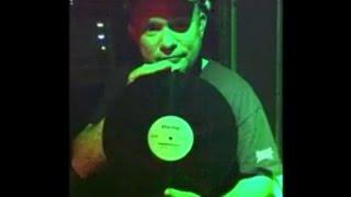 DJ Dennis Trottier spinning vinyl at Paradise Cambridge — ft.
