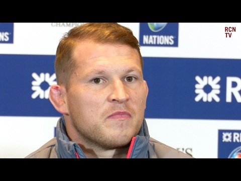England Captain Dylan Hartley  Interview High Tackle Problems