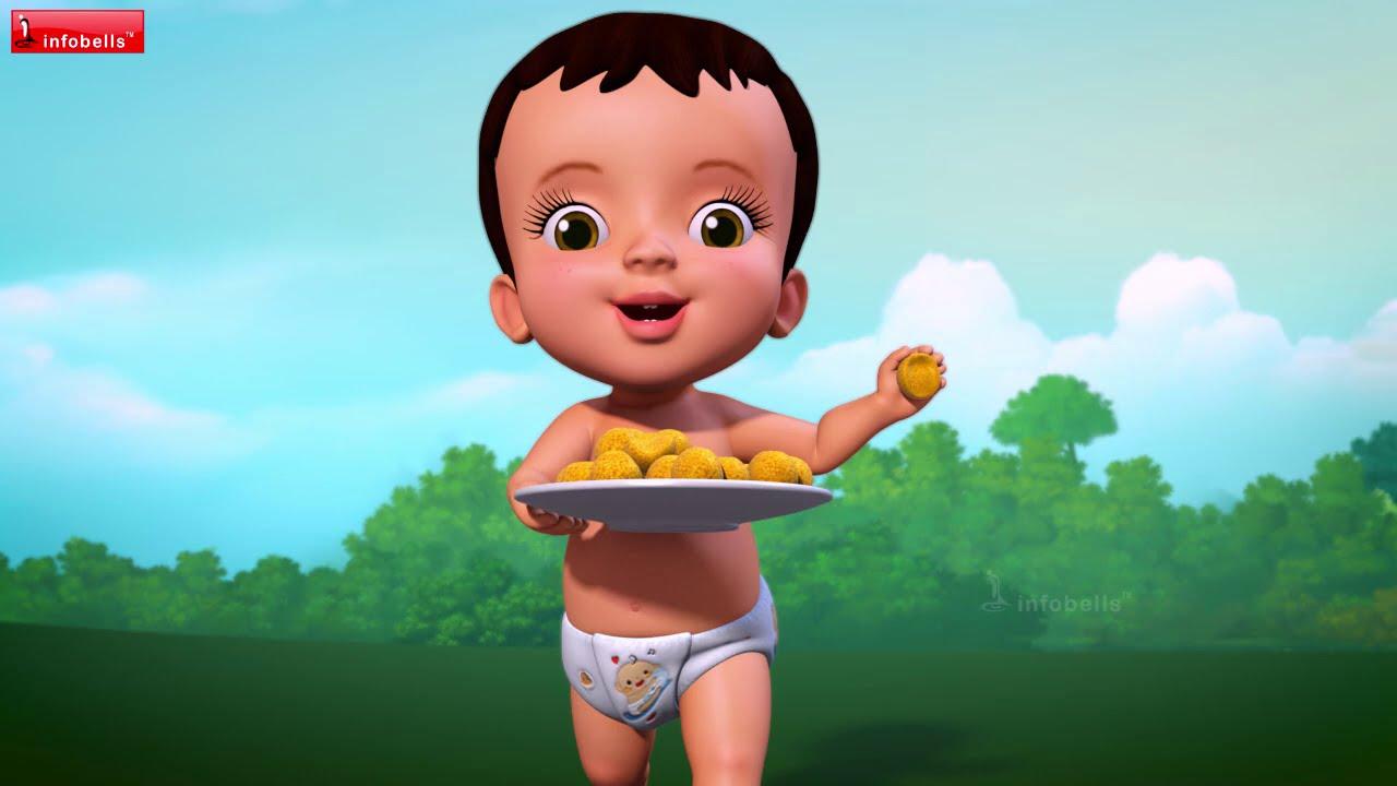 Sharing Song for Kids   Telugu Rhymes for Children   Infobells