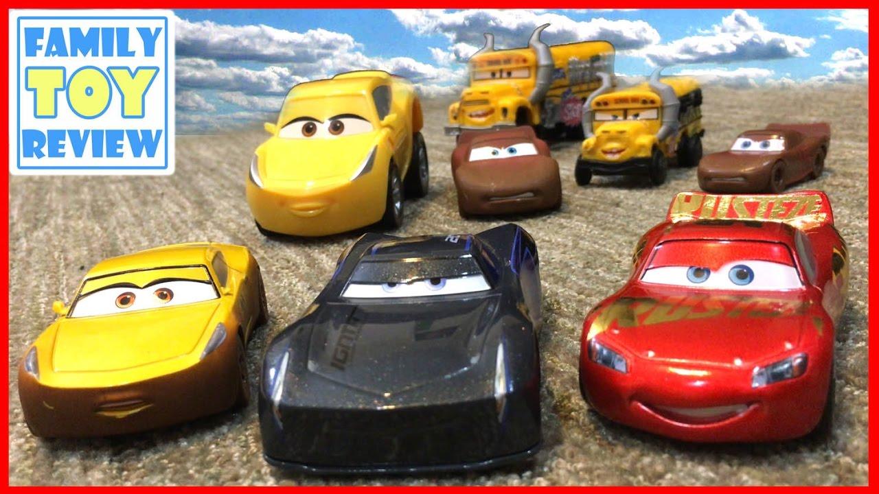 Disney Cars 3 Toys Trailer Mashup Video Of Brand New Disney Cars