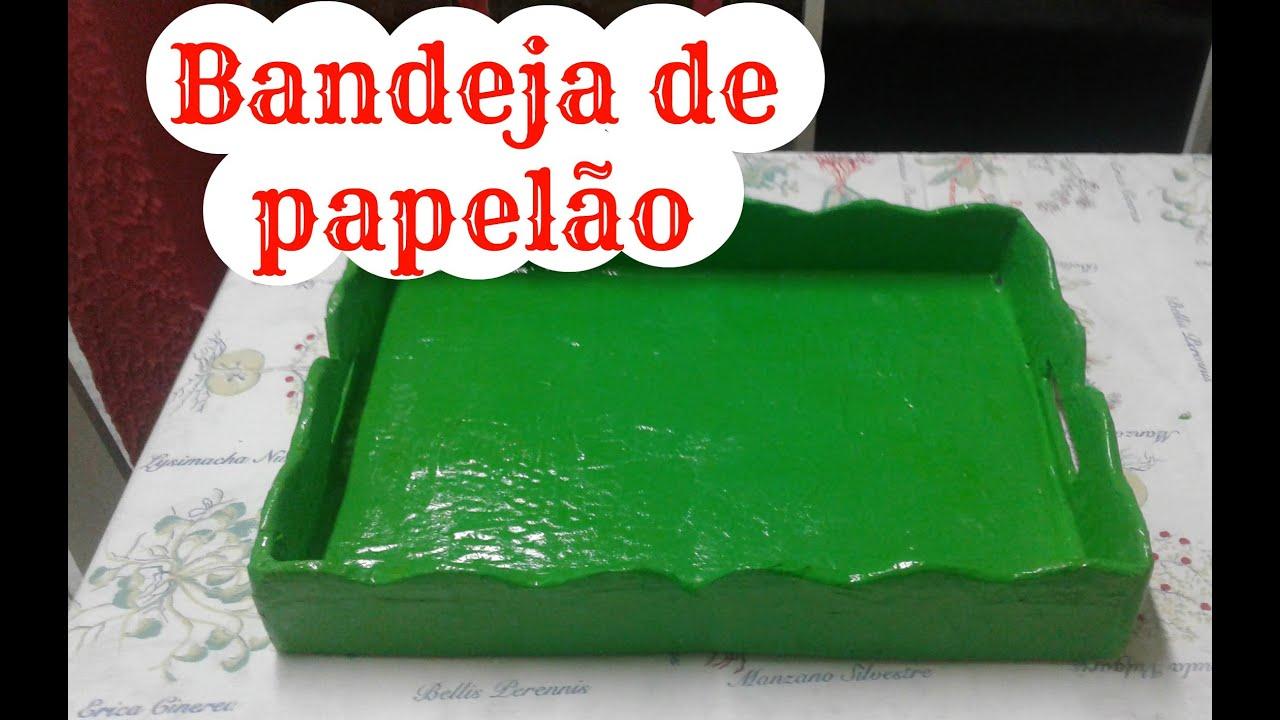 Muito Bandeja de papelão / Mãe Coruja Vivana Queiroz - YouTube QA97