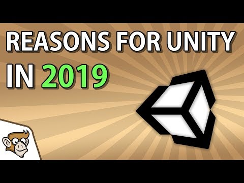 Code Monkey - 7 Reasons to use Unity in 2019!