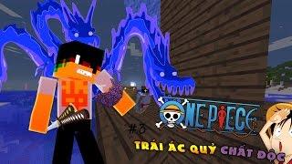 Minecraft One Piece Tập 3 : ZORO ĐÃ ĂN TRÚNG TRÁI ÁC QUỶ CHẤT ĐỘC | Tigerr ✔