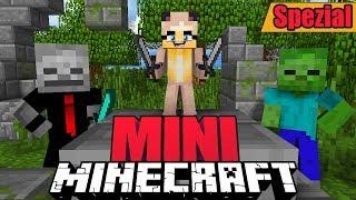 ÜBERLEBEN WIR 1 TAG OHNE GROß ZU WERDEN?! ✿ Minecraft MINI SPEZIAL [Deutsch/HD]