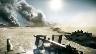 the most beautiful tank battle in games on pc abrams m1a2 and t 72 in battlefield 3