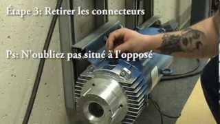 Électricité - Inspection sommaire d'un moteur à courant-continu