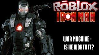 War Machine - Is He Worth It || Roblox Iron Man Battles