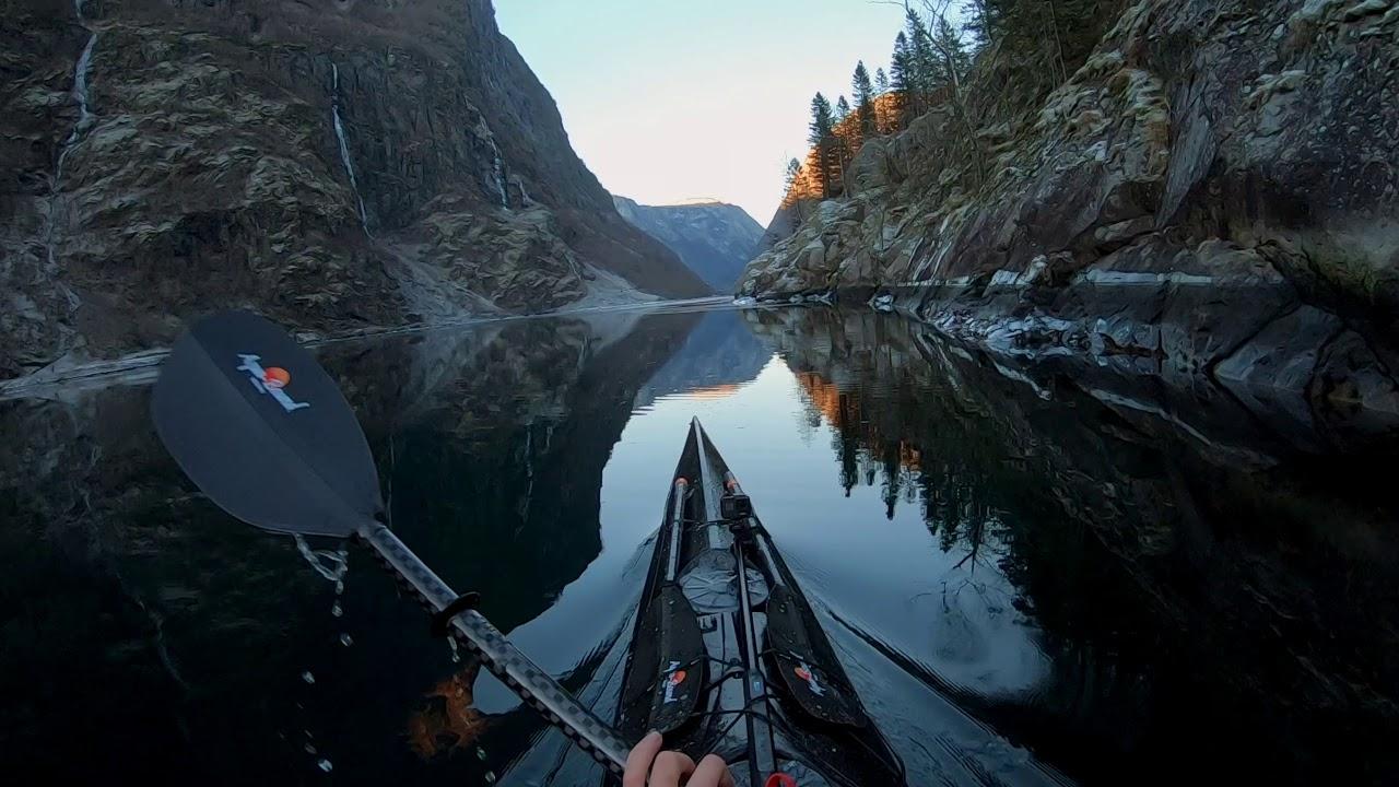Kajakiem przez Norwegię w 60 fpsach