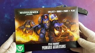 Easy To Build Primaris Aggressors Warhammer 40k Games Workshop 20/% off UK rrp