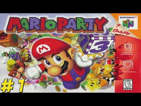 N64: Mario Party! Part 1 - YoVideogames