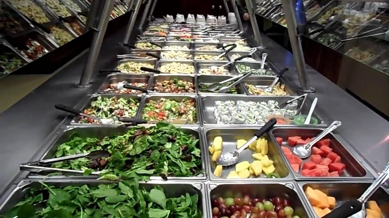 salad bar wellness health food salad youtube. Black Bedroom Furniture Sets. Home Design Ideas
