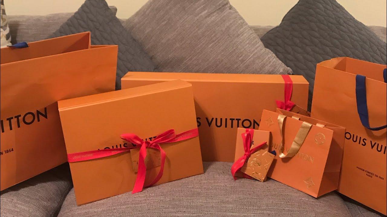 b02ae214bb3a TREAT YO SELF   Louis Vuitton Unboxing - YouTube