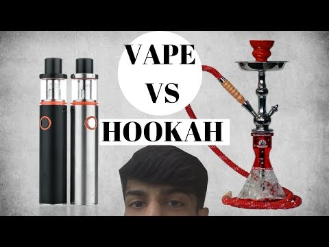 VAPE VS HOOKAH - Which is better for you?