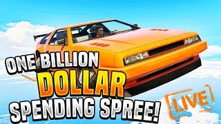 Video GTA 5 ONLINE - 1 BILLION DOLLAR SPENDING SPREE download MP3, 3GP, MP4, WEBM, AVI, FLV April 2018