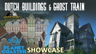 Dutch Style Theme Park and Ghost Train Showcase [4k 60fps]