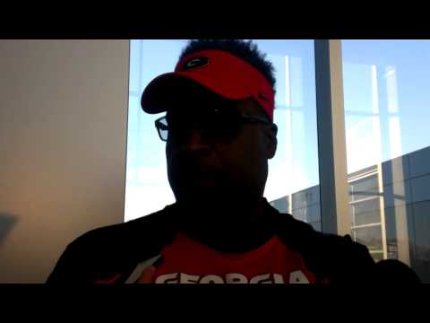 UGA assistant coach Tracy Rocker