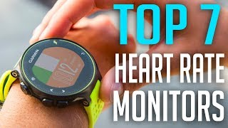 7 Best Heart Rate Monitors Wrist Watch 2019  TOP 7