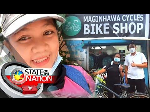 Video ng food delivery rider na napaiyak nang manakawan ng bisikleta, nag-viral   SONA