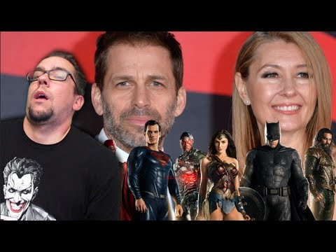 The Snyders Losing Creative Control in the DCEU because Why Not