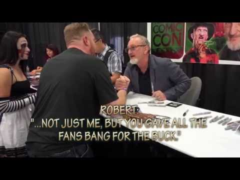 Salt Lake Comic Con 2016 - My Personal Moment With Robert Englund (Shortened w/ Subtitles)