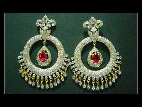 110 Gorgeous Diamond ChandBali Designs
