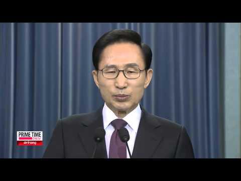 Lee Myung-bak Gives His Last Address as President of South Korea 퇴임연설