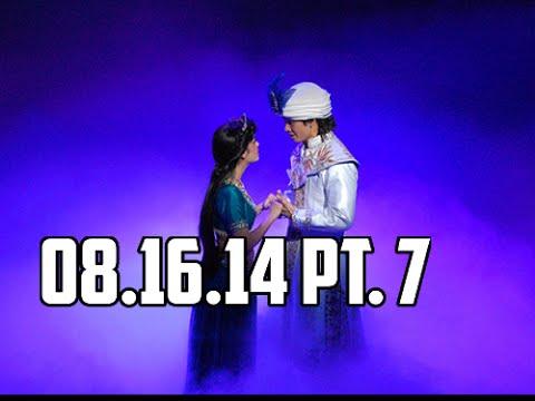 Disney's Aladdin: A musical spectacular cont. | 08/16/14 Pt. 7